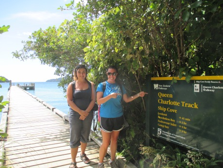 "Queen Charlotte Track Day #1: The New Zealand ""Boardwalk"""