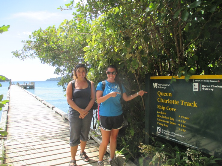 """Queen Charlotte Track Day #1: The New Zealand """"Boardwalk"""""""
