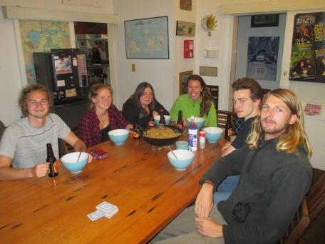 6- Johan, Lynette, Vanessa, Me, Severen, Markus