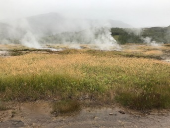 Geothermal activity near Geysir