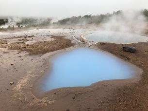 Geothermal activity near Geysir