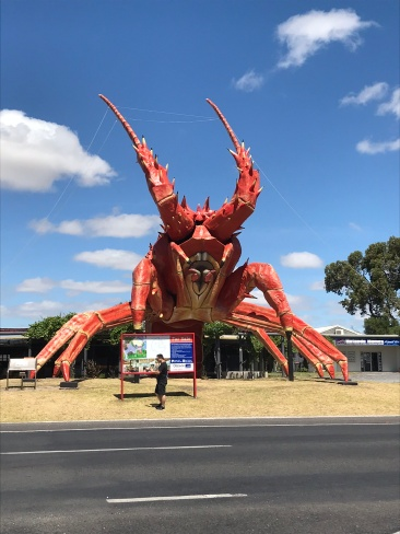 No road trip is complete without an over-sized crustacean