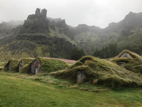 Turf houses at Núpsstaður