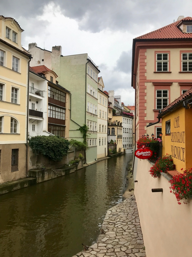 Canal in Prague